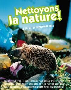Nettoyons la nature 2008