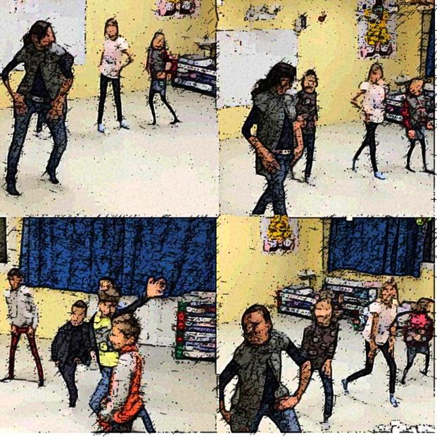 Animation danse moderne