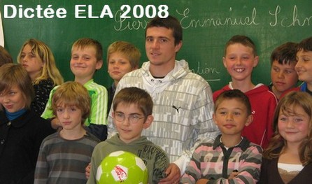 La dictée ELA  édition 2008