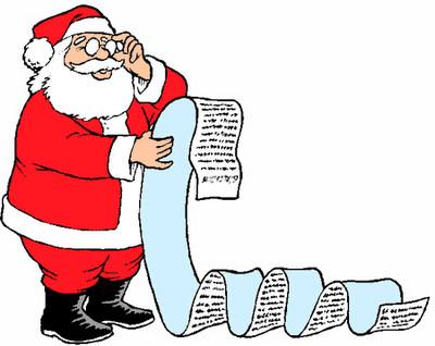 Notre lettre au Père Noël