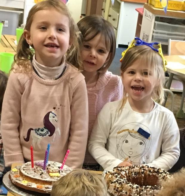 l'anniversaire des enfants nés au mois de janvier