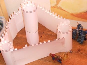 Les châteaux de papier