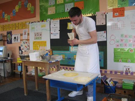 Leçon de pâtisserie