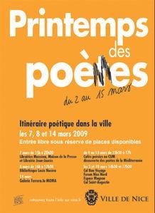 Le printemps des poètes 2009