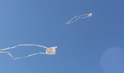 Le jour 4 du cerf volant : essais réussis !