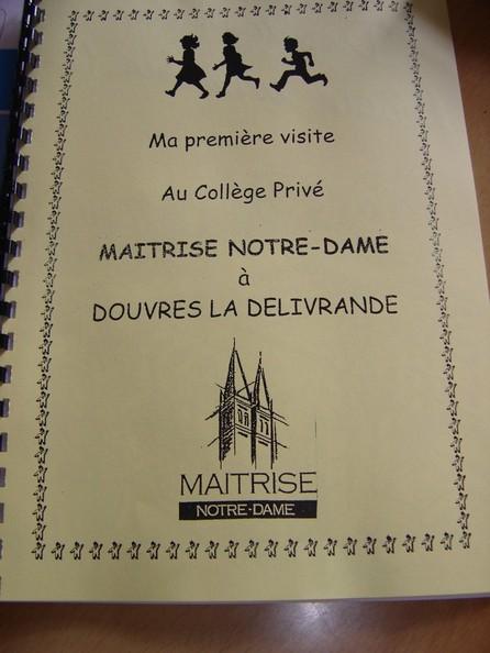 Journée-découverte au collège Maîtrise Notre Dame à Douvres