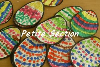 Le concours du plus bel oeuf d cor - Decoration oeufs de paques maternelle ...