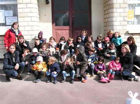 Visite du Verger d'Arquenay