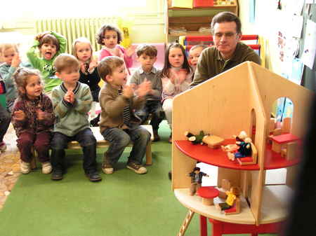 Une nouvelle maison de poupées