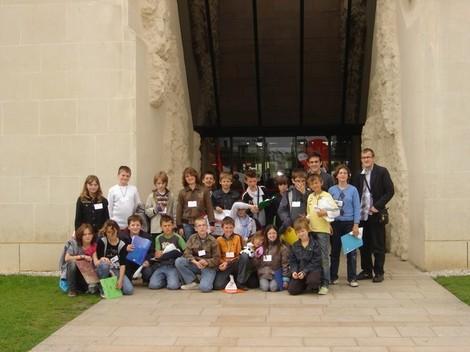 Visite au Mémorial de Caen