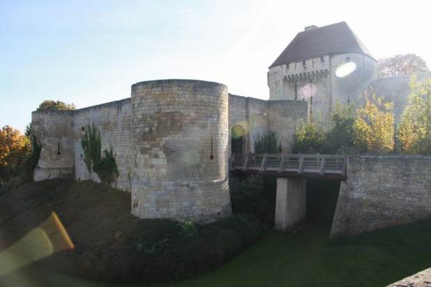 Visite du château de Caen