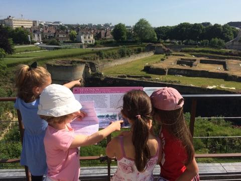 Visite de l'Abbaye aux Dames et du Château de Caen pour les CP-CE1