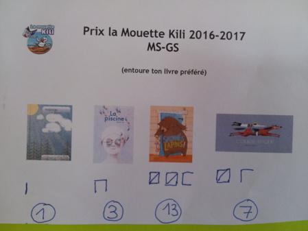 "Concours ""La mouette Kili"""