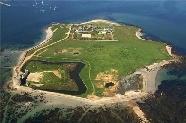 Départ pour l'Ile de Tatihou