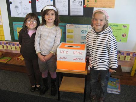 Election des délégués pour la maternelle