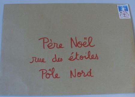 La lettre au p re no l - Adresse du pere noel la poste ...