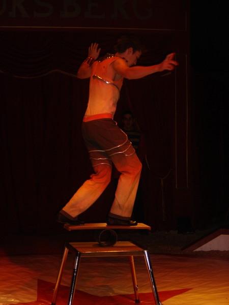 Direction le cirque Borsberg...