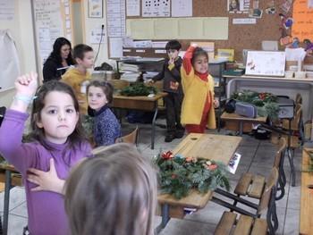 Couronnes de Noël en CP