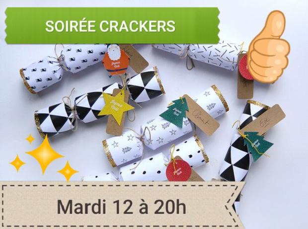 Bricolages de Noël Soirée Crackers