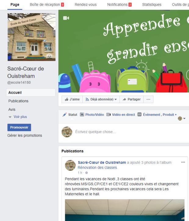 Le Facebook de l'école