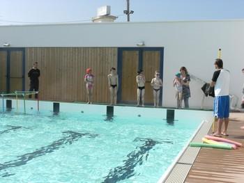 L'activité piscine des CP , CP/CE1 et CE2