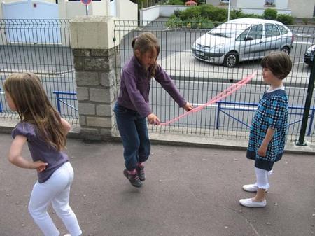 1ère récréation sur la cour des primaires