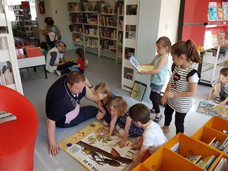 Rdv à la bibliothèque pour les MS-GS