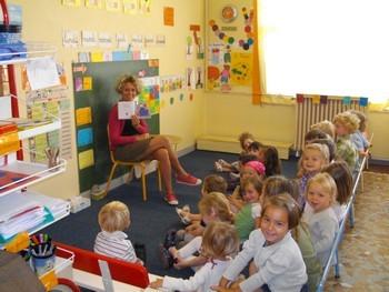La classe de petite et moyenne section de maternelle - Decoration classe petite section ...