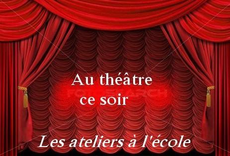 Démarrage des ateliers théâtre