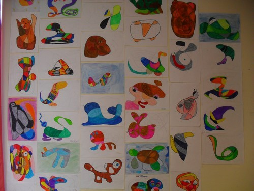 Arts plastiques...du trait à la forme!