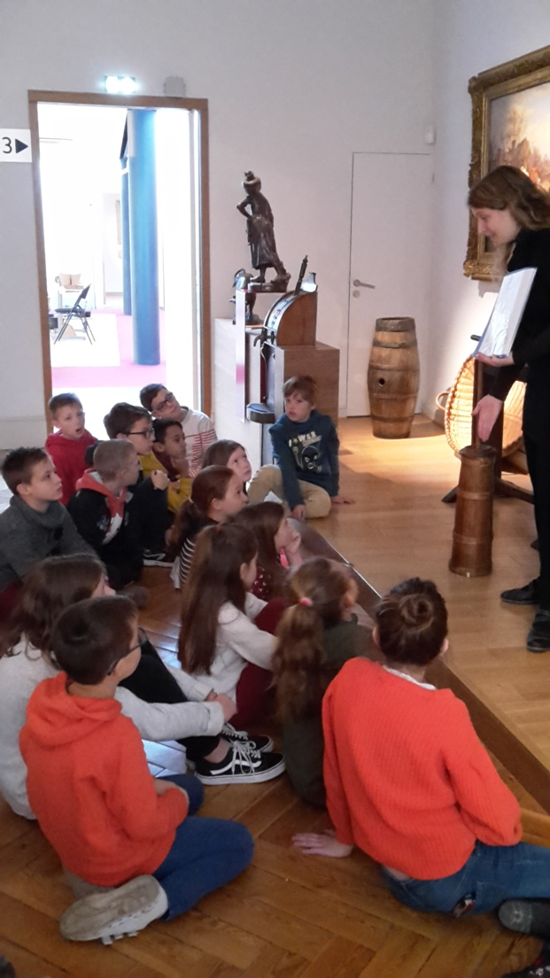 Visite du musée Baron Gérard de Bayeux