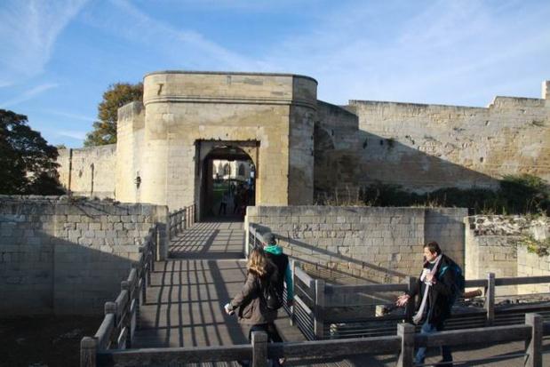 Visite du Château de Caen GS/CP