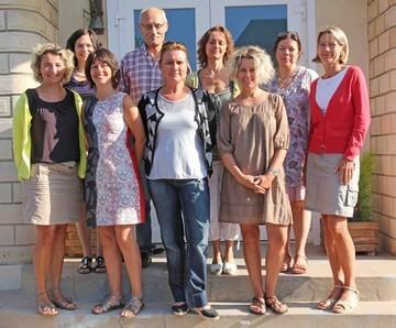 L'équipe pédagogique pour la rentrée 2011/2012