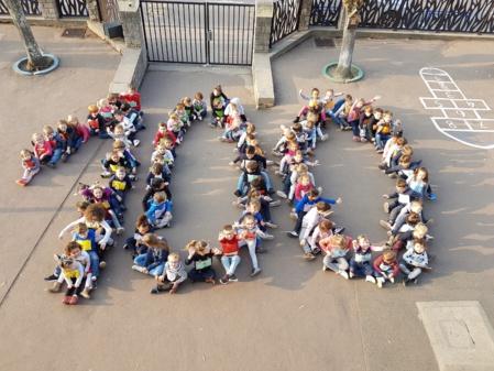 Fête des 100 jours d'école !