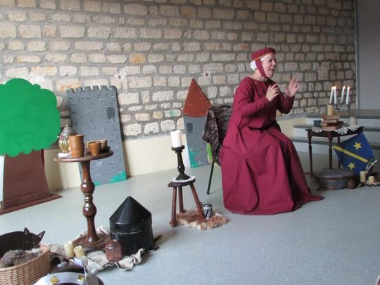 Spectacle au Moyen Age