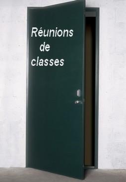 Les réunions de classes