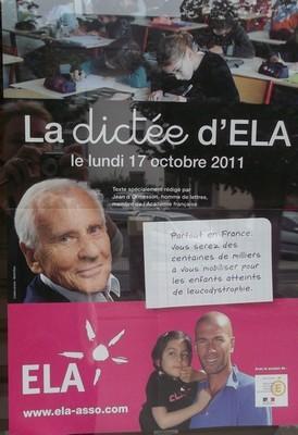 La dictée ELA 2011