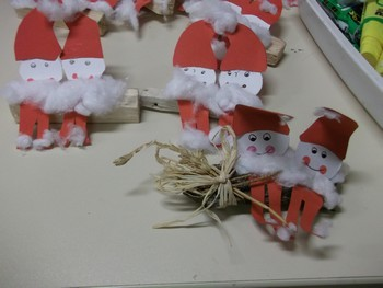 Bricolages pour le marché de Noël