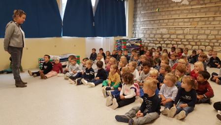 Règles de la cour en maternelle