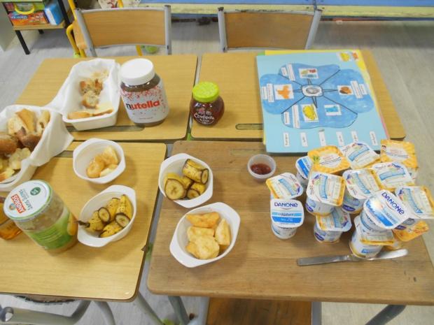 Le petit déjeuner en PS MS