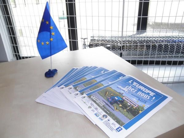 Exposition sur l'Europe en CE2/CM1et CM2