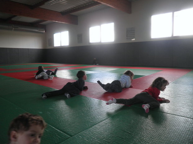 Séance de gymnastique