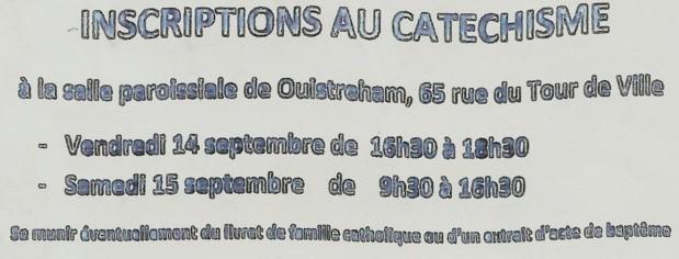 Inscriptions au KT