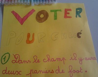 Campagne électorale au Sacré-Coeur