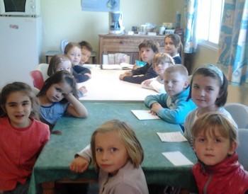 1er conseil de délégués à l'école