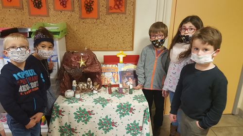 Les CP se préparent pour Noël