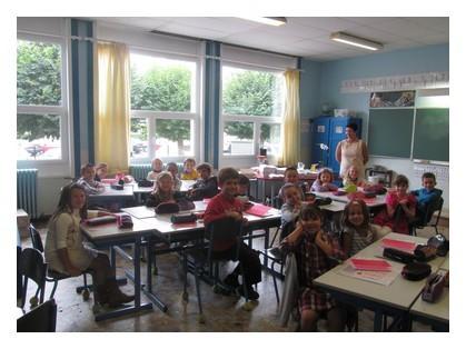 Voici la classe de CE1/CE2.