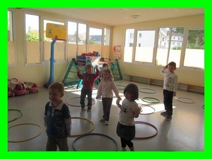 Les activités sportives en Maternelle