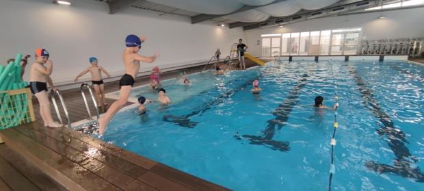 Les séances de piscine ont commencé!