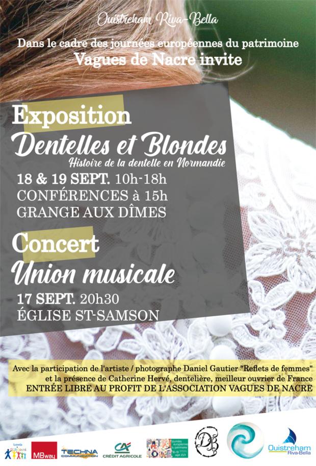 Exposition Dentelles et Blondes